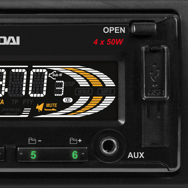 Hyundai H-CDM8092/G Black