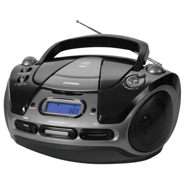 Магнитола с CD плеером Hyundai М.Видео 1075.000