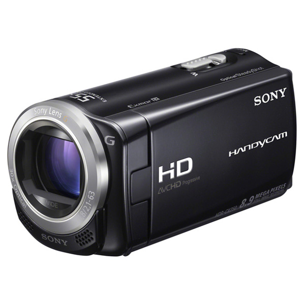 Видеокамера flash hd sony hdr cx250e black
