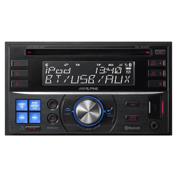 Автомобильная магнитола с CD MP3 Alpine М.Видео 7990.000