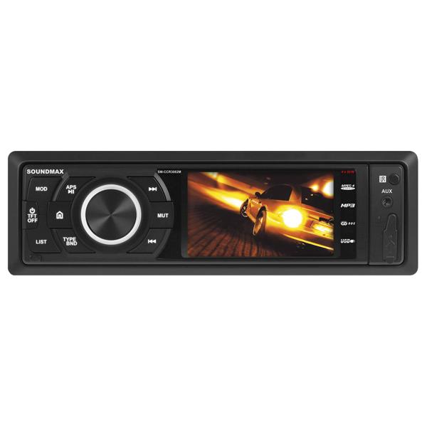 USB-Автомагнитола c встроенным монитором Soundmax М.Видео 2390.000