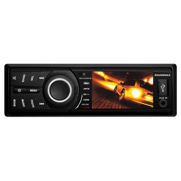 USB-Автомагнитола c встроенным монитором Soundmax М.Видео 1535.000