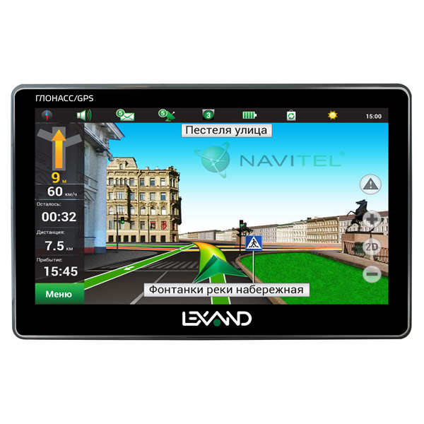 Портативный GPS-навигатор Lexand М.Видео 3845.000