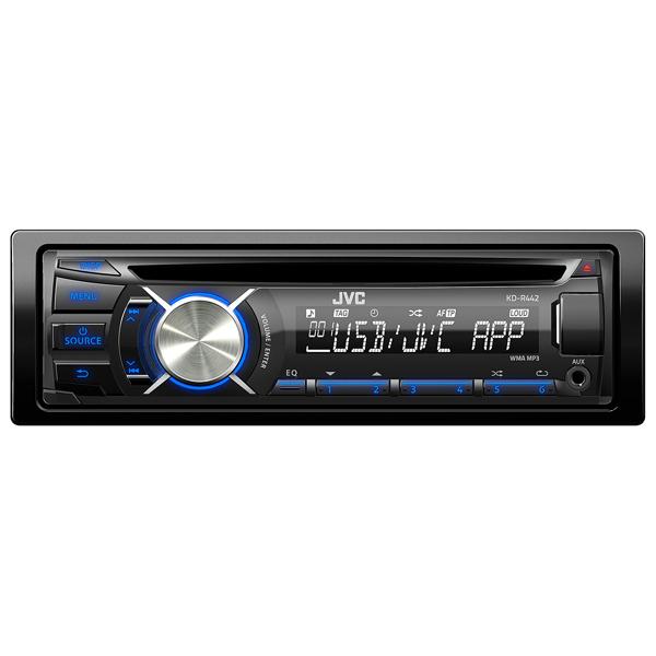 Автомобильная магнитола с CD MP3 JVC М.Видео 1815.000