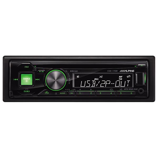 Автомобильная магнитола с CD MP3 Alpine М.Видео 3135.000