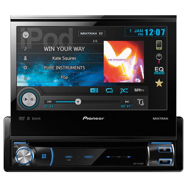 Автомобильная магнитола с DVD + монитор Pioneer М.Видео 15490.000