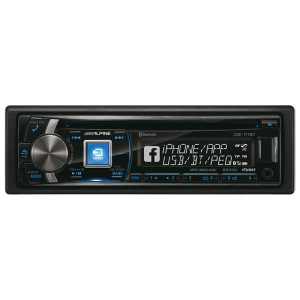 Автомобильная магнитола с CD MP3 Alpine М.Видео 8990.000