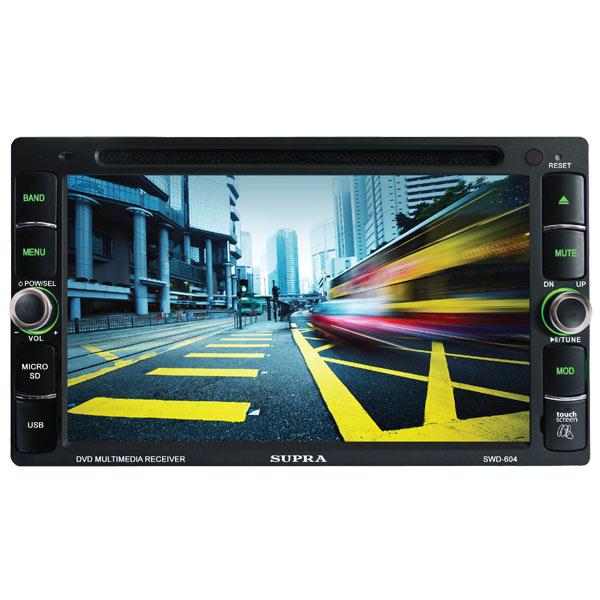 Автомобильная магнитола с DVD + монитор Supra М.Видео 4690.000