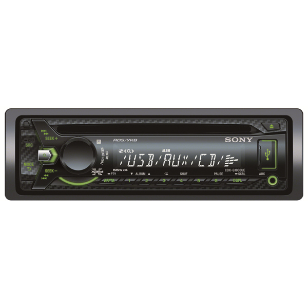 Автомобильная магнитола с CD MP3 Sony М.Видео 3190.000
