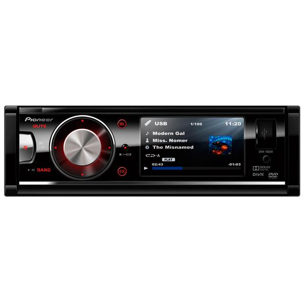 Автомобильная магнитола с DVD + монитор Pioneer М.Видео 5090.000