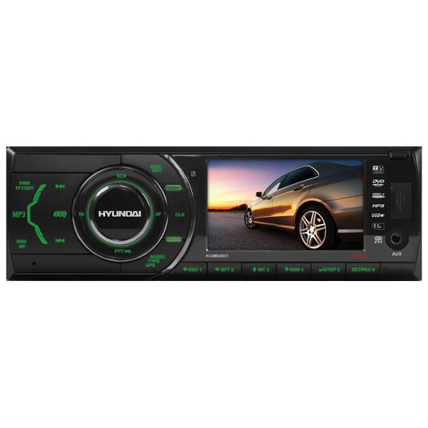 Автомобильная магнитола с DVD + монитор Hyundai М.Видео 3990.000