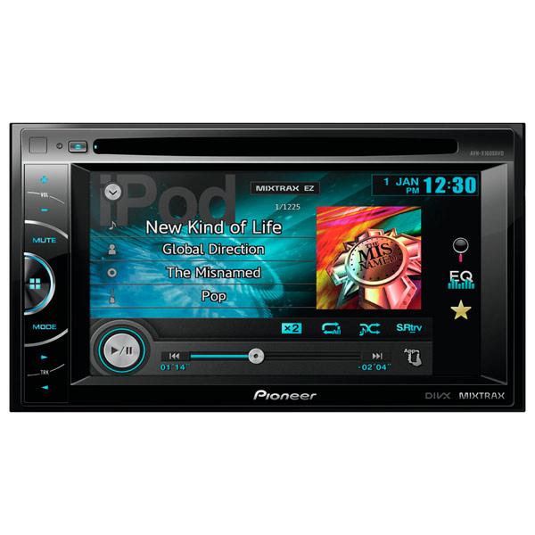 Автомобильная магнитола с DVD + монитор Pioneer М.Видео 11890.000
