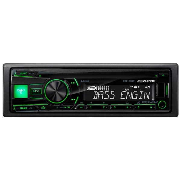 Автомобильная магнитола с CD MP3 Alpine М.Видео 3890.000