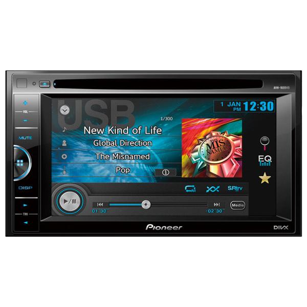 Автомобильная магнитола с DVD + монитор Pioneer М.Видео 8990.000