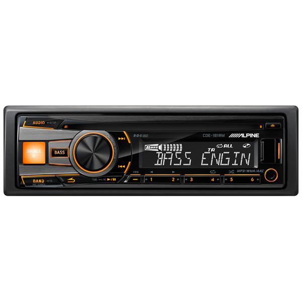 Автомобильная магнитола с CD MP3 Alpine М.Видео 4890.000