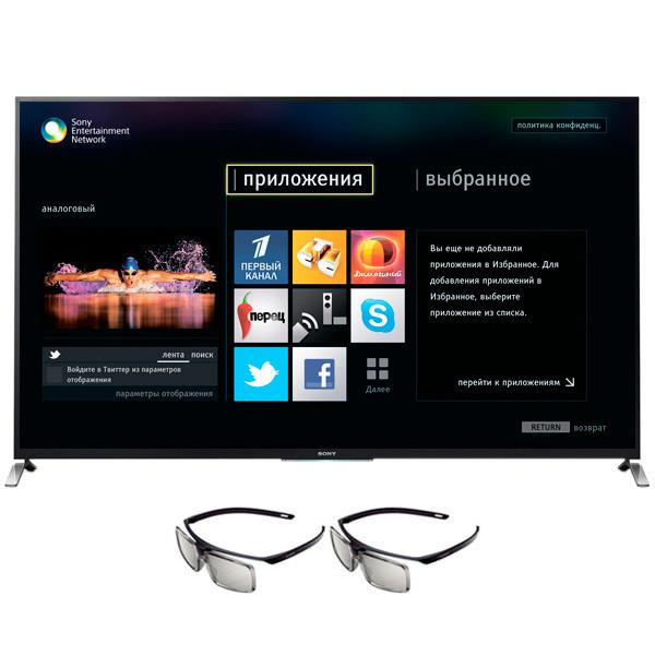 3d телевизор sony kdl 55hx753