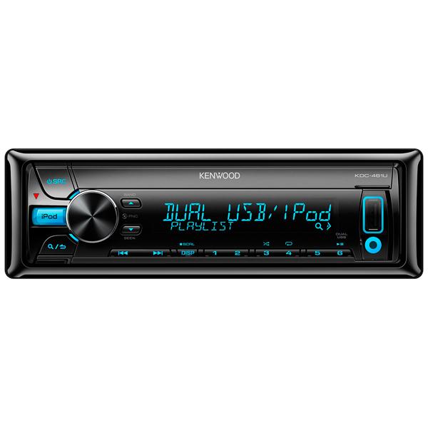 Автомобильная магнитола с CD MP3 Kenwood М.Видео 4490.000