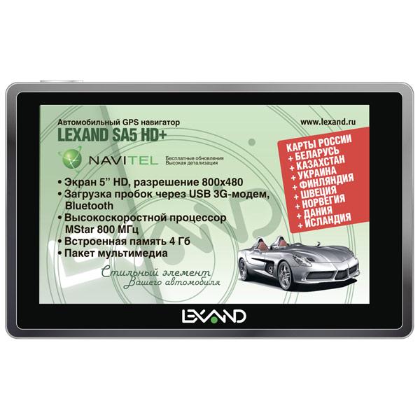 Портативный GPS-навигатор Lexand М.Видео 3190.000