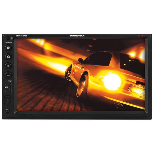 USB-Автомагнитола c встроенным монитором Soundmax М.Видео 4990.000