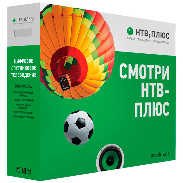 Комплект спутникового ТВ НТВ-Плюс М.Видео 6990.000