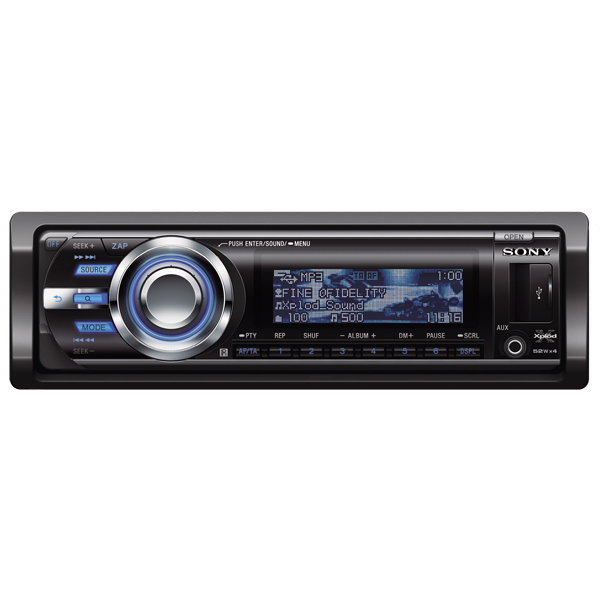 Автомобильная магнитола с CD MP3 Sony М.Видео 5990.000