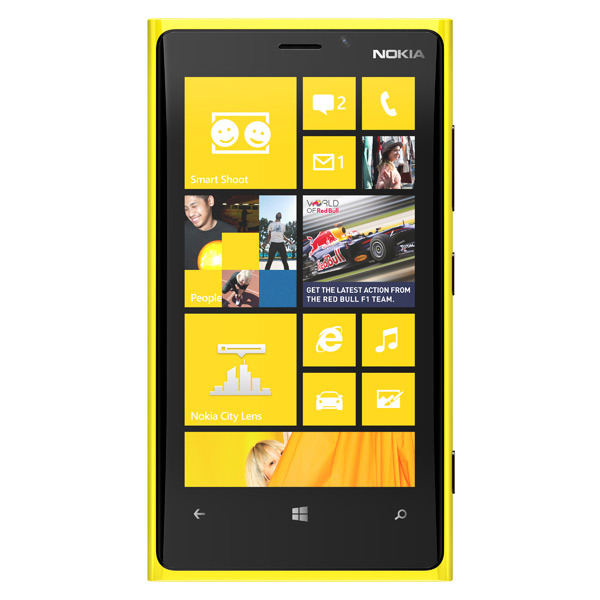 Смартфон Nokia Lumia 920.1 Yellow
