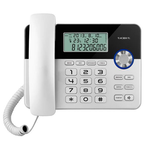 Телефон проводной teXet М.Видео 690.000