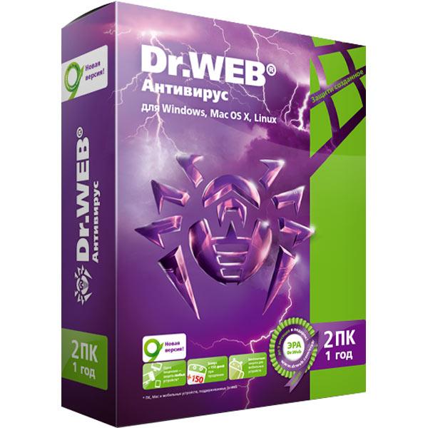 Антивирус Dr.Web М.Видео 1290.000