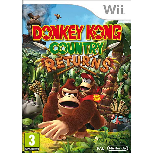 Игра для Wii Медиа Donkey Kong Country Returns