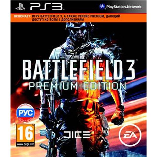 Battlefield 3: Premium Edition (2012) PS3 скачать торрент бесплатно. Один