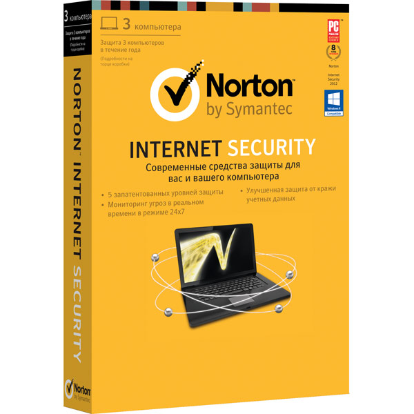 Антивирус Symantec Norton М.Видео 1490.000
