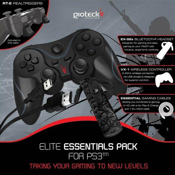 Набор для игровой приставки PS3 Gioteck М.Видео 2490.000