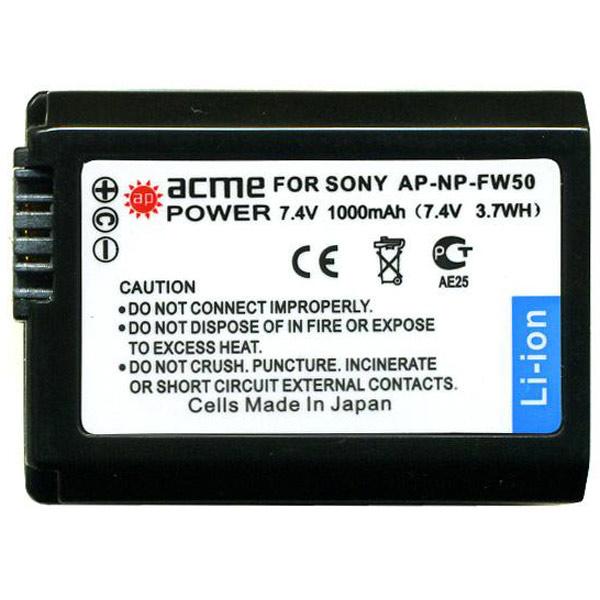 Аккумулятор для цифрового фотоаппарата AcmePower М.Видео 890.000