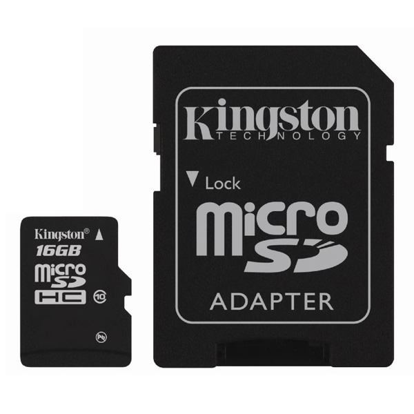 Карта памяти SDHC Micro Kingston М.Видео 790.000