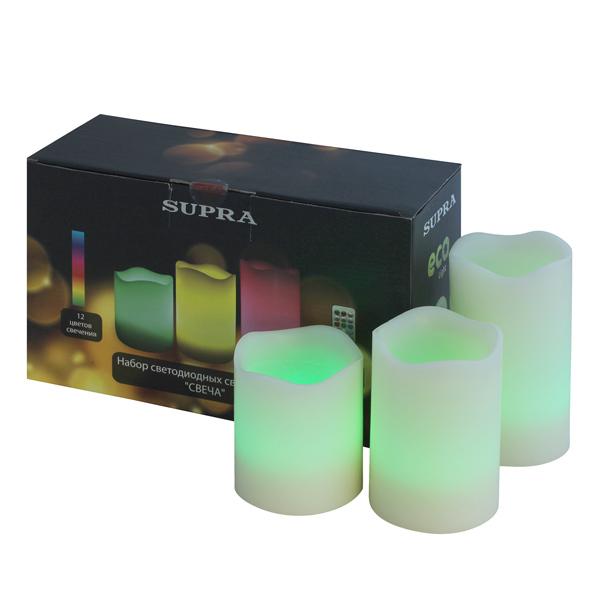Электронная свеча LED Supra М.Видео 1390.000