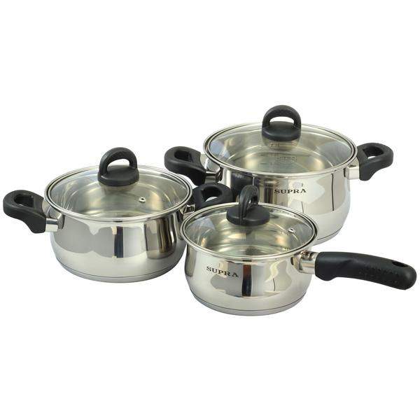Набор посуды (нержавейка) Supra М.Видео 2590.000