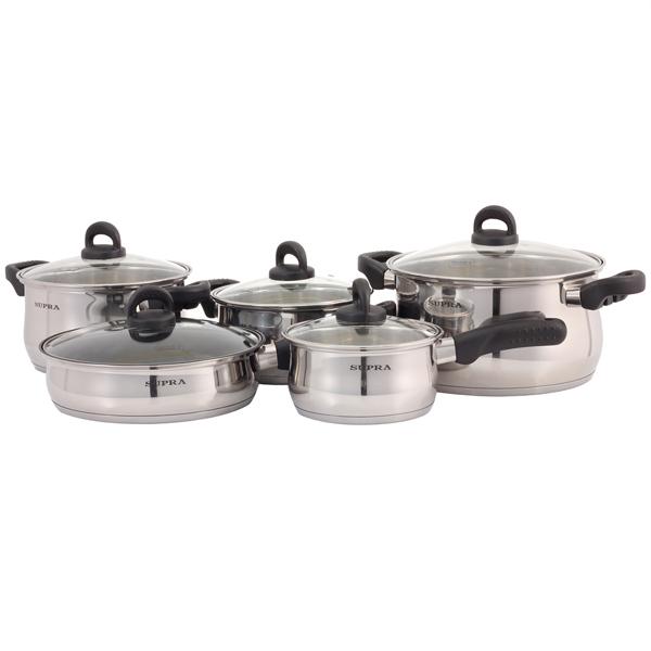 Набор посуды (нержавейка) Supra М.Видео 3690.000