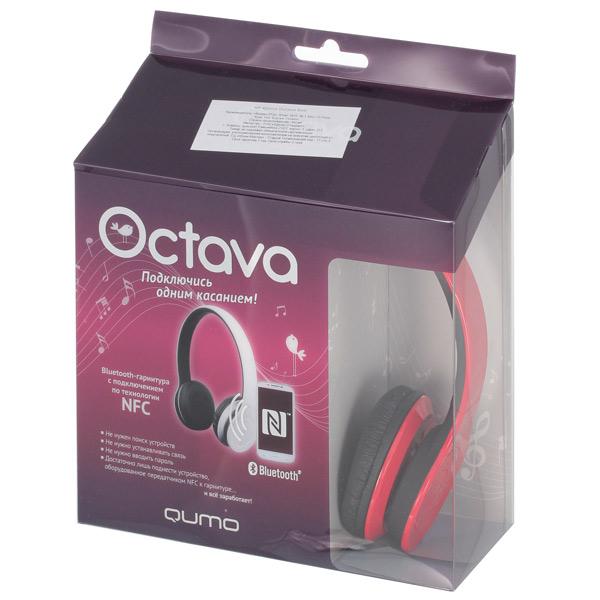 Отзывы Наушники Bluetooth Qumo Octava Red  807d36cd42cbf