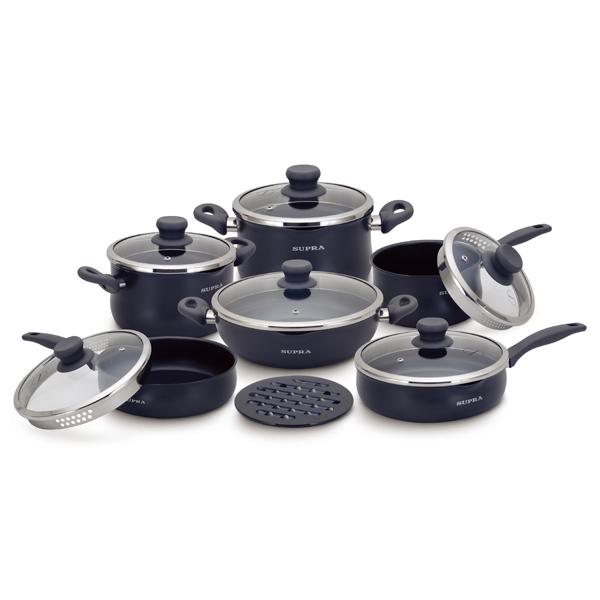 Набор посуды (антипригарное покрытие) Supra М.Видео 9890.000
