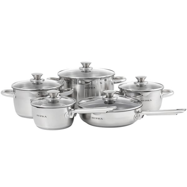 Набор посуды (нержавейка) Supra М.Видео 5790.000