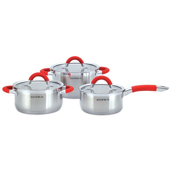 Набор посуды (нержавейка) Supra М.Видео 3290.000