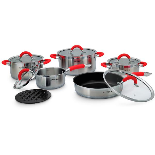 Набор посуды (нержавейка) Supra М.Видео 6290.000