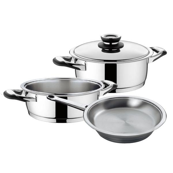 Набор посуды (сверхпрочное покрытие) Silga М.Видео 9590.000