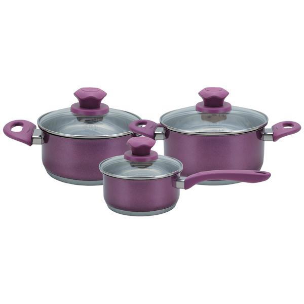 Набор посуды (нержавейка) Supra М.Видео 4490.000
