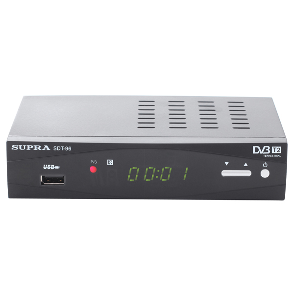 Приемник телевизионный DVB-T2 Supra М.Видео 1490.000