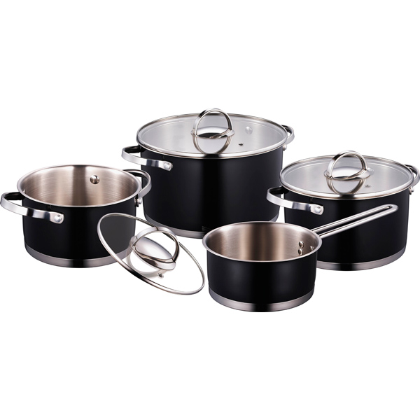 Набор посуды (нержавейка) Bergner М.Видео 3990.000