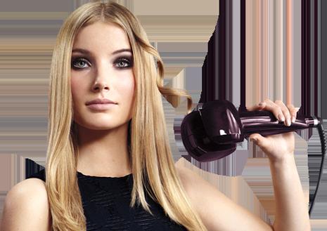 Плойка для волос для создания локонов