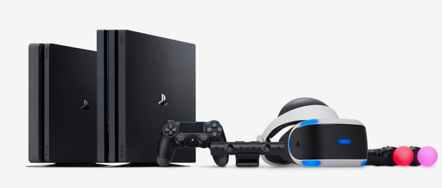 Экосистема Sony PlayStation 4  VR 52c7bfd01d164